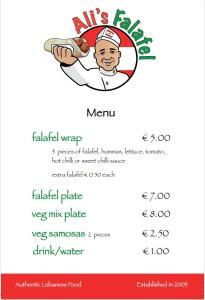 Ali menu