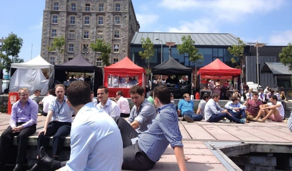 Waterways Lunchtime Food Market Grand Canal Quay