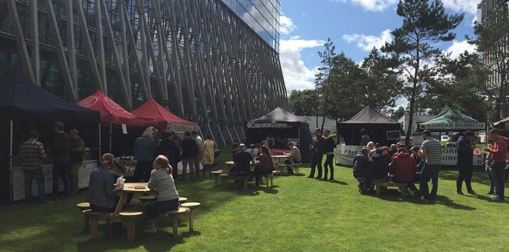 Elmpark Green Lunchtime Food Market
